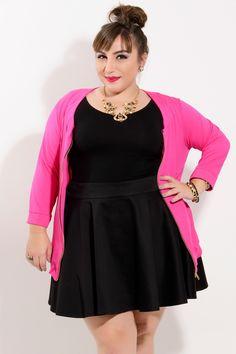 Saia Ju Romano - VK Moda Plus Size