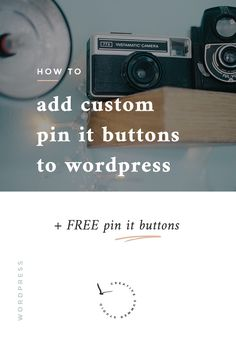 Do you want to improve the way you promote your blog through Pinterest? This tutorial shows you step by step, how to add a custom Pin It button to your WordPress blog. As a creative blogger, you may want to make it easier for your readers to spread your stories and pin directly from your post, so we have for you 8 FREE pin it buttons ready to be downloaded. Just click here to read the article and to get the free goodies.
