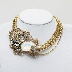 Baroque Fashion Jewel - Judith Leiber Lulu Necklace400 x 400 | 43.3KB | pinterest.com