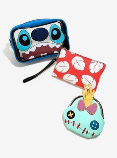 Disney Lilo & Stitch Cosmetic Bag Set