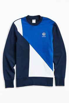Reebok Retro Crew Neck Fleece Sweatshirt - Urban Outfitters