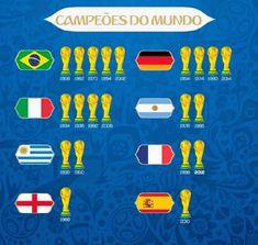 Campeones de la copa del mundo 🏟