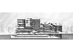 Gallery of The Best Architecture Drawings of 2017 - 76