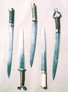 In the fifth century AD the Saxon Seax and Viking Seax daggers and short swords came into widespread use.