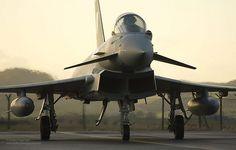 Typhoon FGR4 at RAF Leuchars