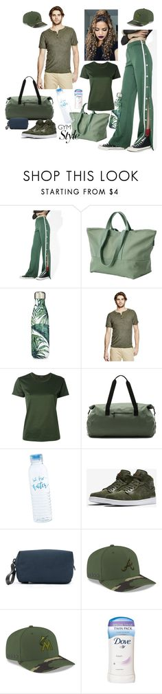 """""""Untitled #513"""" by amliw ❤ liked on Polyvore featuring Juicy Couture, BAGGU, S'well, Erika Cavallini Semi-Couture, Herschel Supply Co., NIKE, Troubadour, New Era and Dove"""