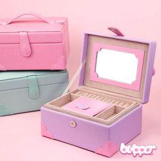Chic Pastel Jewelry Box