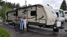 Lila's new 2016 SUNSET TRAIL 32RL! Congratulations and best wishes from Clear Creek RV Center and Chris Stan.