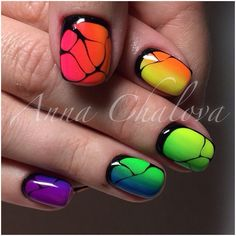 #гель_лак #лак #маникюр #дизайн_ногтей #ногти #градиент #омбре
