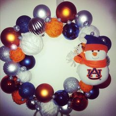 Again, re-pinned from an Auburn board, but this could totally be done in Hokie colors.