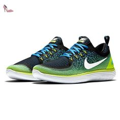 on sale d77d5 ef8d9 Nike Free Rn Distance 2, Chaussures de Running Compétition Homme,  Multicolore (Chlor Blau