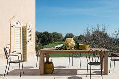Table Rectangulaire de jardin Byron en Teak - Unopiù