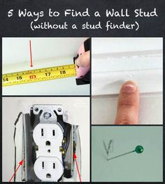 how to find stud in wall with magnet