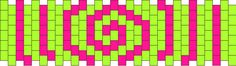Candy Swirl Pony Bead Patterns | Simple Kandi Patterns for Kandi Cuffs
