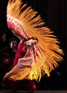 Flamenco star Olga Pericet. Photo by Javier Fergo.