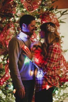 Alex and I will be doing this since it will be Our First Christmas :)