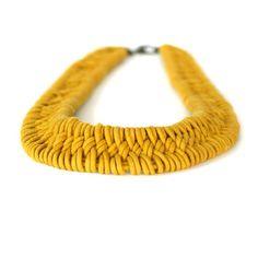 Estero Hand Woven Necklace                                                                                                                                                                                 Plus