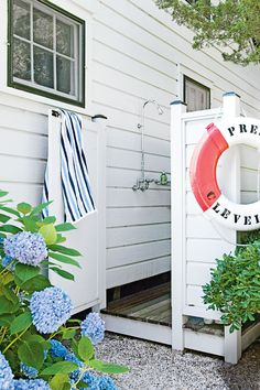 Don't skip the outdoor shower. A basic installation can run less than $1,000, while one with all the bells and whistles (think spa-like showerheads and custom stone privacy enclosures) may cost anywhere from $4,000 to upwards of $8,000. Be sure and hire a