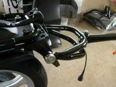Mono-Trail Single Wheel Motorcycle Trailer - Chassis - YouTube