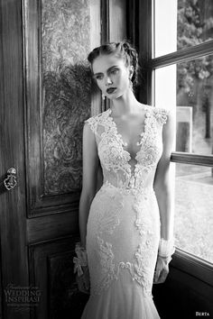 Sexy Berta Wedding Dresses 2014 Bridal Collection