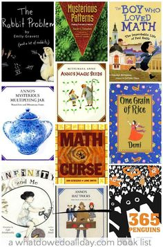 Math picture books that make advanced concepts fun for kids.