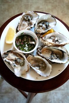 Chablis and oysters will make the monk leave the cloisters! And obviously a glass of muscadet or blanc de blanc champagne would be most welcome with these too.