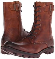 John Fluevog Mens Ronald Combat Boot List Price: $325.00 Buy New: $229.86