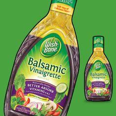 Balsamic Vinaigrette-wishbone winner of best bargain balsamic in Cooking Light taste test