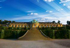Zum Pflichtprogramm eines Berlinbesuchs zählt der Ausflug zum Schloss Sanssouci in Potsdam. Friedrich der II., der Große, ließ das Sommerschloss von 1745 bis 1747 erbauen.