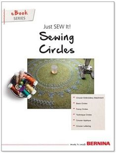 Image result for bernina sewing decorative circles
