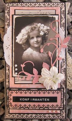 my little scrap-world Shabby Chic Cards, Vintage Shabby Chic, Crafts For Kids, Arts And Crafts, Paper Crafts, Photo Transfer, Coloring Pages, Colouring, Mini Scrapbook Albums
