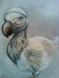30.12.2013 Dodo  Oil on canvas 18x24 cm Sold