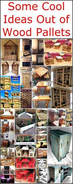 Here we came up with some cool ideas out of wood pallets that will reshape your place with though-provoking wooden creations. These pallet projects are attractive, graceful and at the same time, they are economical to afford.