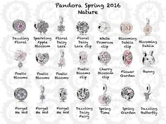 Finally after all the live images, we have a preview of the charms for the upcoming Pandora Spring 2016 Collection today! It's scheduled for release on March 17th, and surprisingly there's not as much in this release as I expected. The collection is...