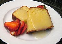 Lemon Dessert Sauce for Pound Cake, Bread Pudding, or Gingerbread