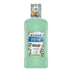 Crest Pro-Health for Me Breezy Mint Oral Rinse, fl oz, Green Kids Up, Mouthwash, Alcohol Free, Cavities, Pediatrics, Dentistry, Whitening, Vodka Bottle, Dental
