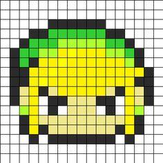 Link Perler Perler Bead Pattern | Bead Sprites | Characters Fuse Bead Patterns