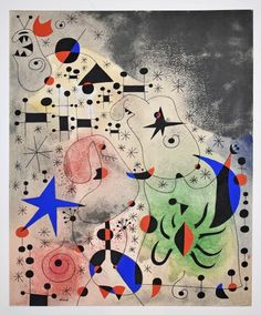 L-Oiseau-migrateur-Joan-MiróYou can find Joan miro and more on our website.L-Oiseau-migrateur-Joan-Miró Max Ernst, Magritte, Kandinsky, Joan Miro Pinturas, Constellations, Miro Artist, Joan Miro Paintings, Art Paintings, Migratory Birds