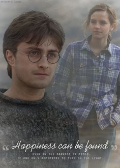 .Harry and Hermione-Happiness in darkest of times