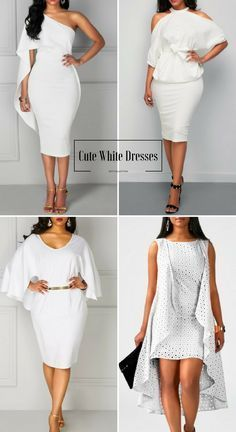 Cute White Dresses For Women, Up to 60% Off