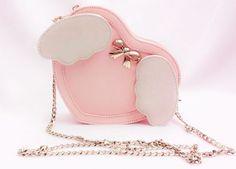 Pink angel handbag