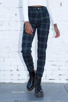 53 Best Green Plaid Pants Images Plaid Pants Plaid Pants Outfit