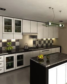 Gambar Dapur Minimalis White Kitchen Cabinets Flooring Backsplash Wood