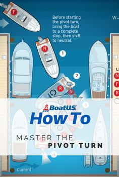 Making a pivot turn with a single engine is easy and will get you out of tight spaces by turning your boat around in place. #BoatUSMagazine