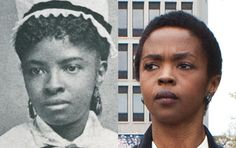 Famous Lookalikes: Mary Mahoney - Lauryn Hill (Images of Mary Mahoney and Lauryn Hill provided by Getty Images)