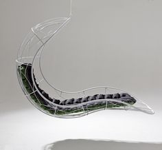 Beautiful hanging chairs by Studio Stirling