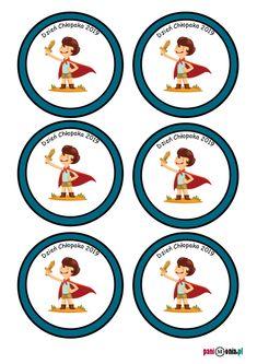 Dzień Chłopaka - medale i dyplomy Diy And Crafts, Decorative Plates, Bullet Journal, Classroom, Teaching, Education, School, Anna, Pdf