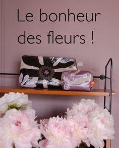 Pour l'amour des fleurs et de belles choses, sacs, pochettes, tissus Robert le héros