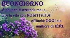Buon giorno positivo. ...