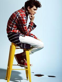 Summer Look with allstars, Hugh Vidler - Next Model